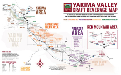 Yakima Valley Wine Country Maps